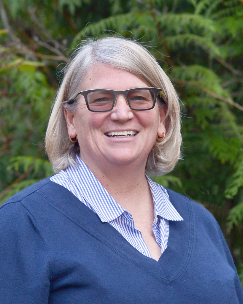 A headshot of Megan Karch, Chief Executive Officer at IslandWood.