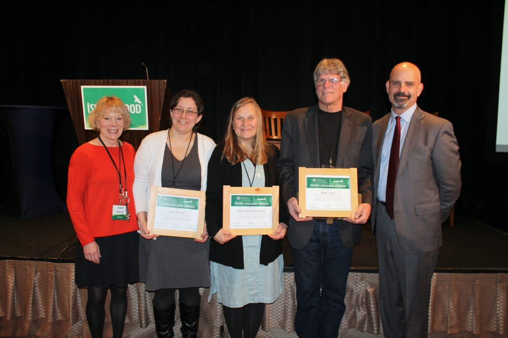 Patsy Collins Award Recipients from 2017