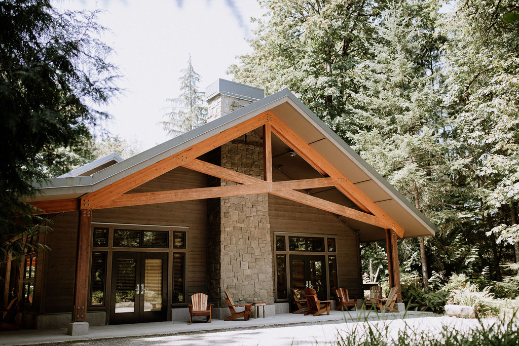 a Lodge at IslandWood, an Outdoor Meeting venue