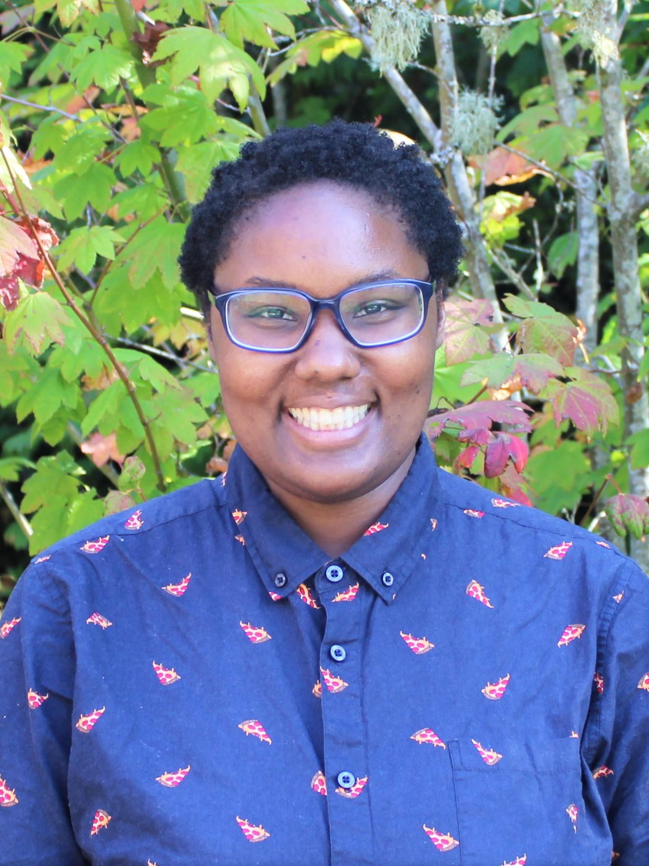 IslandWood Graduate Program student Tiffany Barber