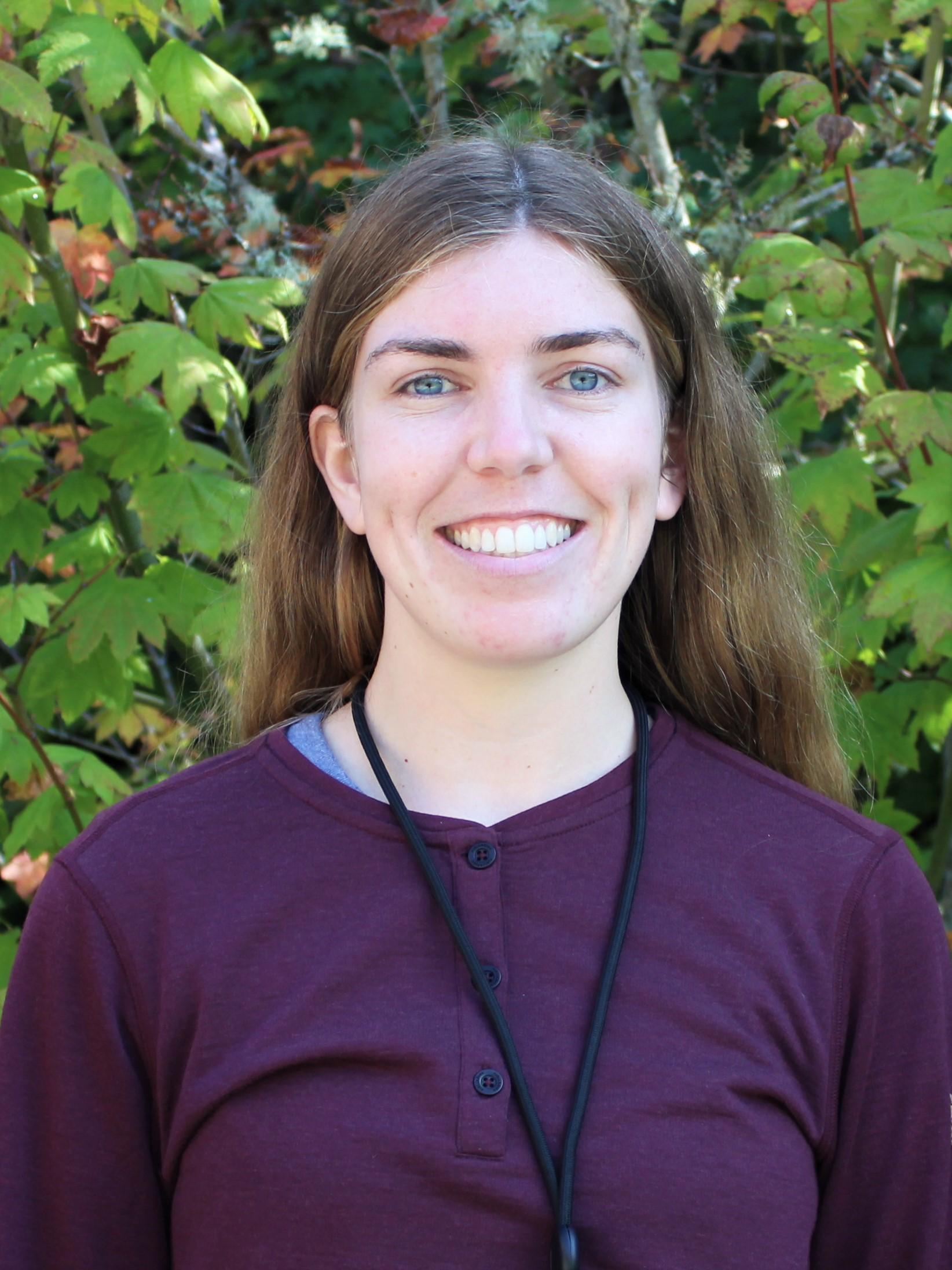 IslandWood Graduate Program student Natalie Lassiter