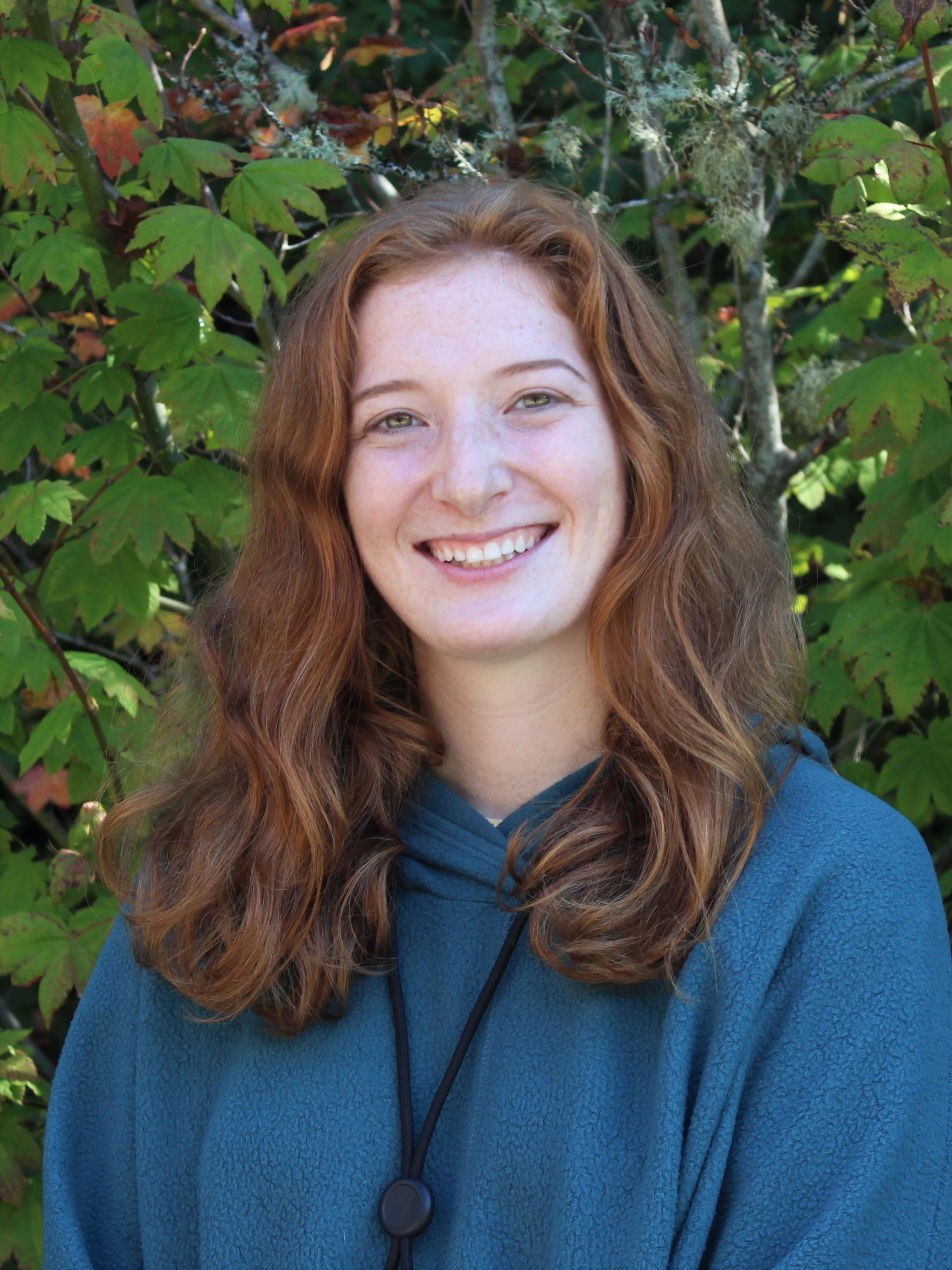 IslandWood Graduate student Claire Naughton