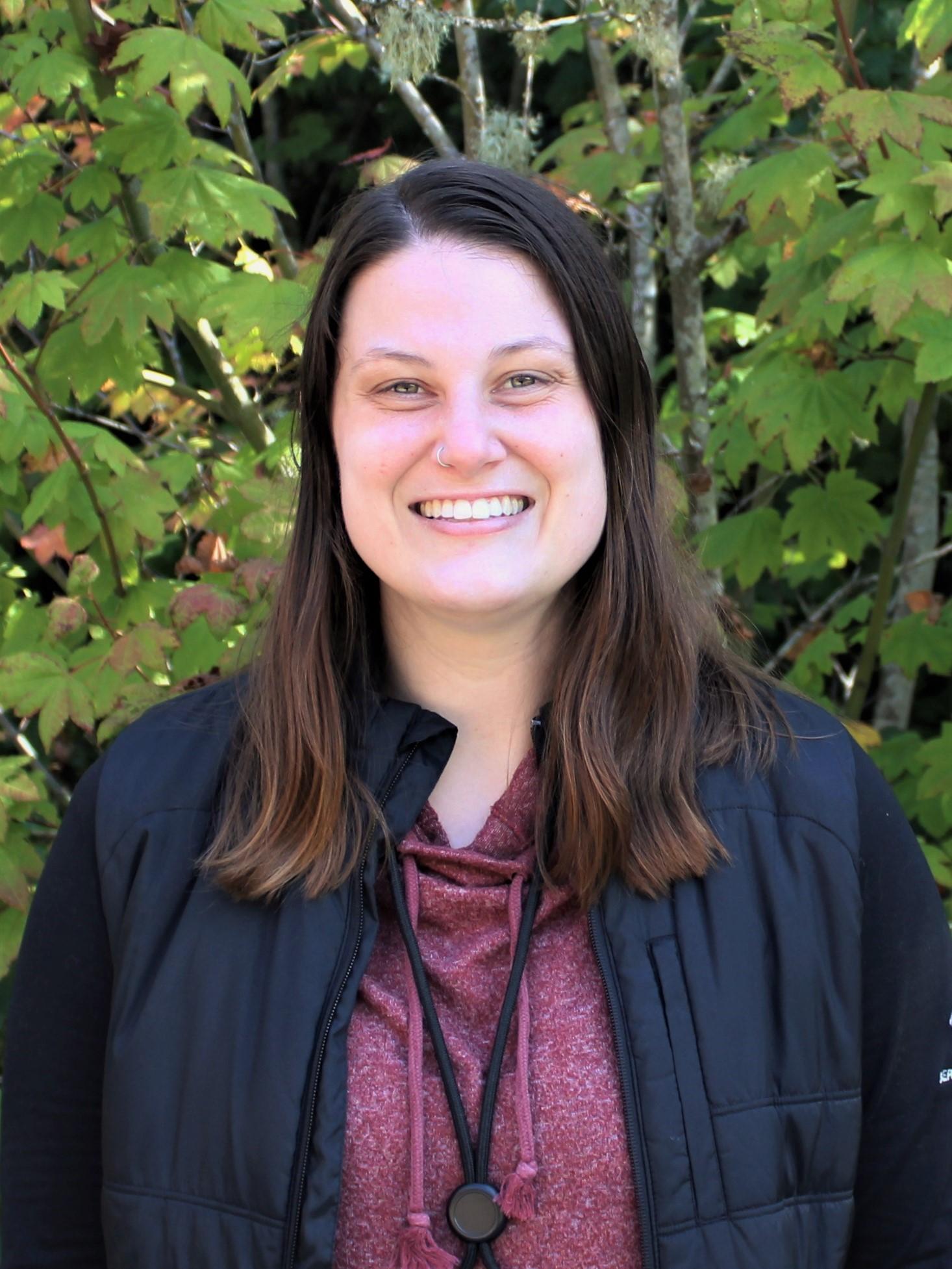 IslandWood Graduate Program student Diana Krichevsky