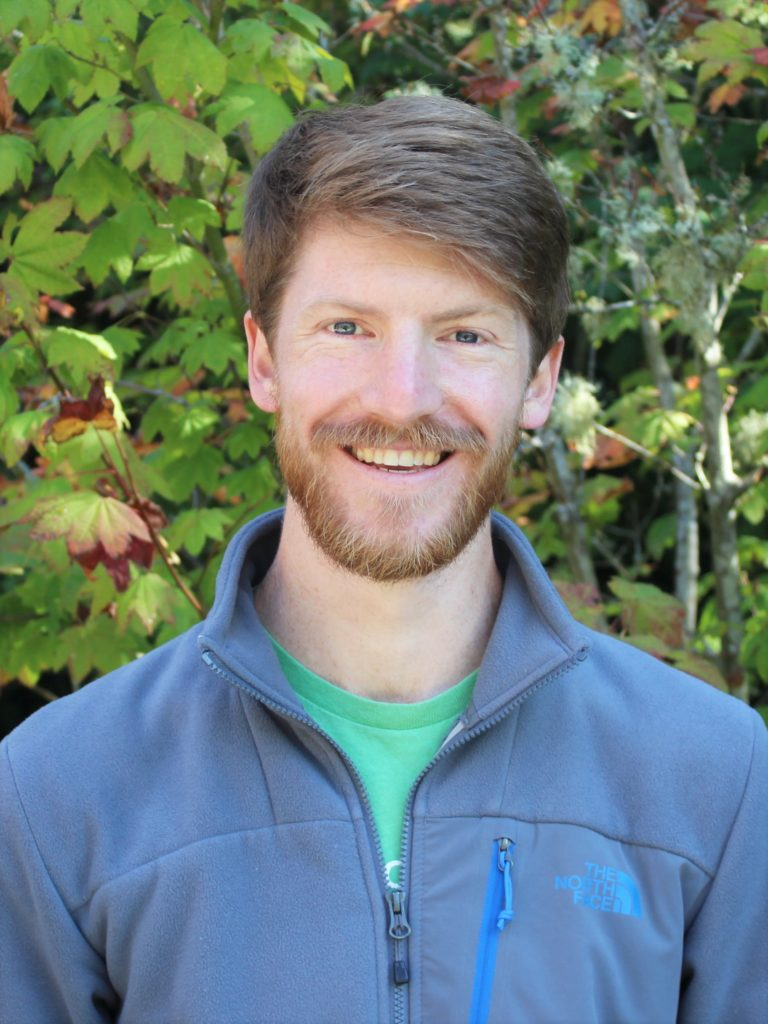 IslandWood Graduate program student Jeff Chandler