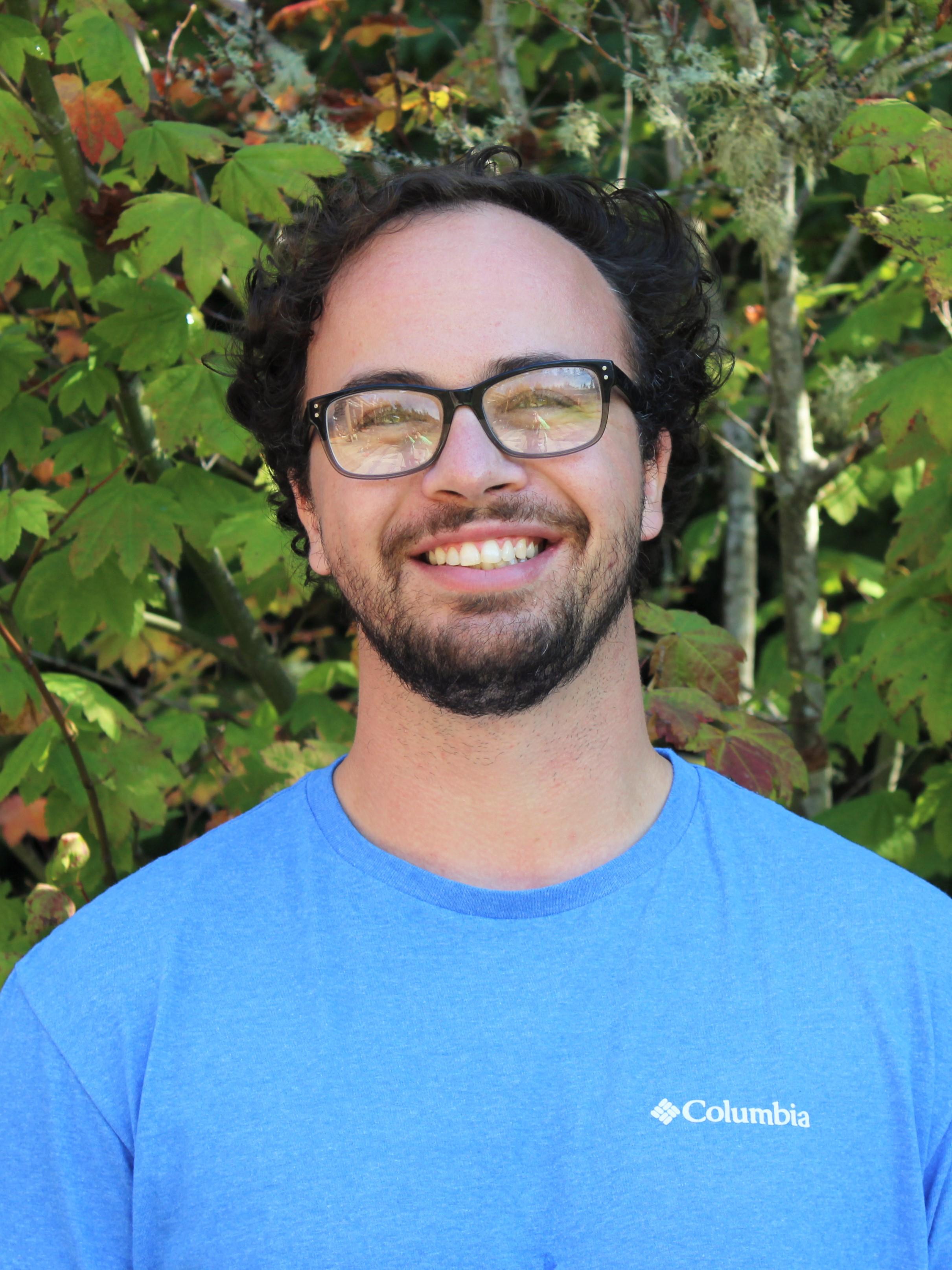 IslandWood Graduate Program student Jacob Kreuzer