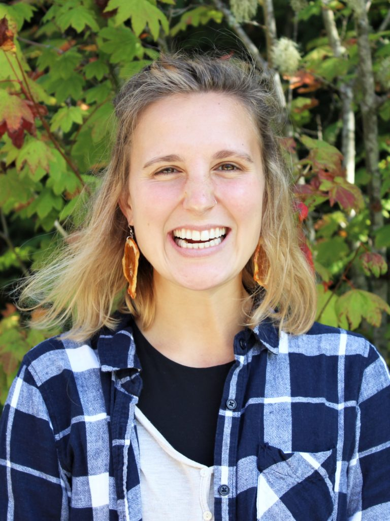 IslandWood Graduate Program student Grace Werner