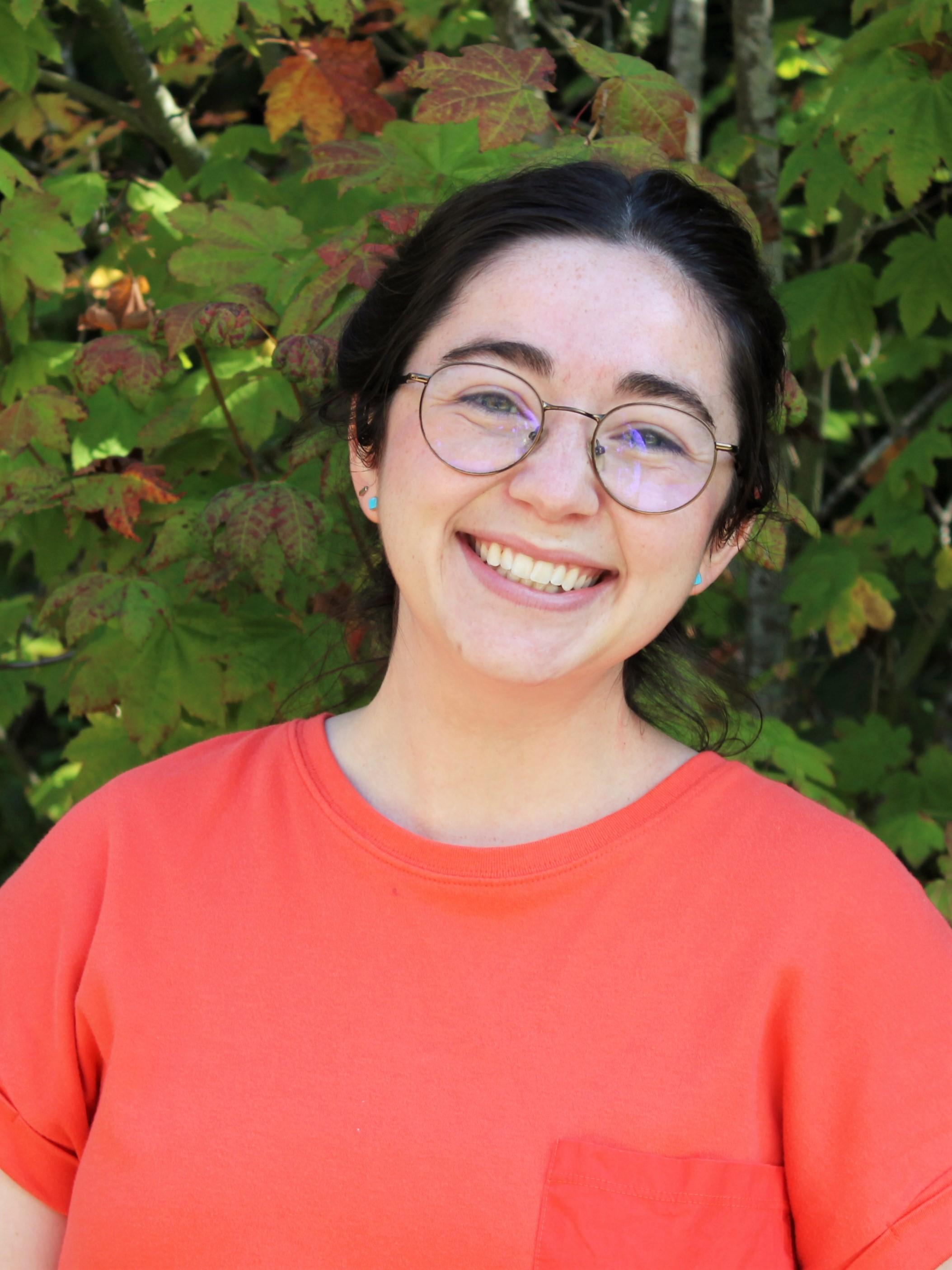 IslandWood Graduate Program student Grace Merrett